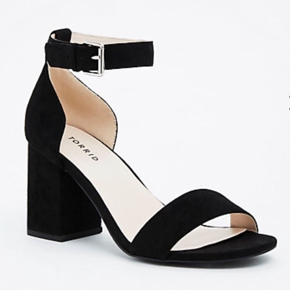 e3be7d8eeeab Single Strap Block Heels WIDE WIDTH. M 5a789f919d20f0dcc18d193d